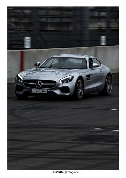 Mercedes AMG auf dem Lausitzring